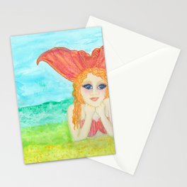 Calming Colielia, Oh Mermaids Stationery Cards