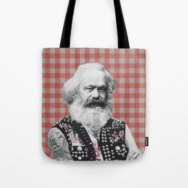 Punk Marx Tote Bag