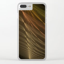 String Sync by Knightengale Clear iPhone Case