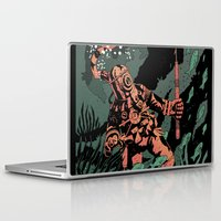 diver Laptop & iPad Skins featuring Diver by Rafael T. Pimentel