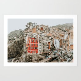 LITTLE RED HOUSE Art Print