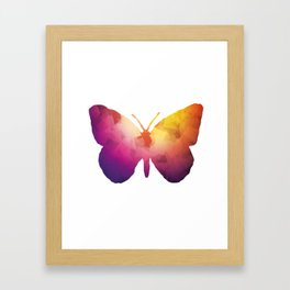 Butterly Framed Art Print