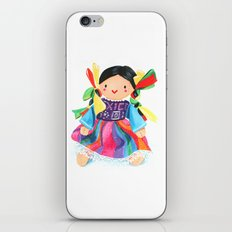 Little Mexican Doll iPhone & iPod Skin