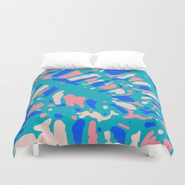 Coral Reef Sunlight Dream Duvet Cover