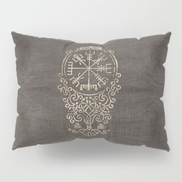 Vegvisir and Tree of life  - Yggdrasil Pillow Sham