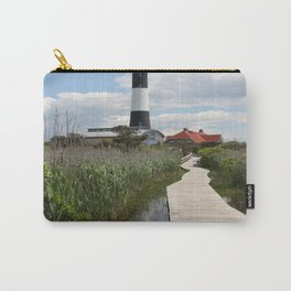 Fire Island Light With Reflection - Long Island Carry-All Pouch