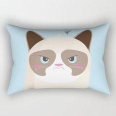 Grumpy Cat Rectangular Pillow