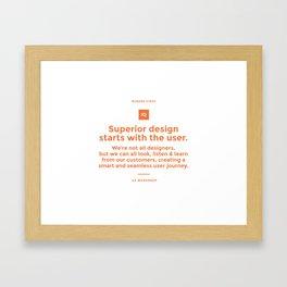 Superior Design Framed Art Print