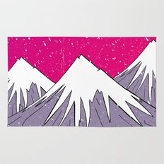 The mountains and the Snow Rug