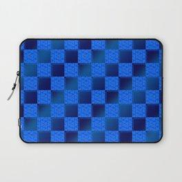 Funky Check (Waterworld) Laptop Sleeve