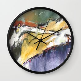 Bright Times Ahead Wall Clock