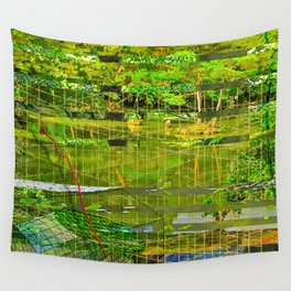 Landscape of My Heart (segment 3) Wall Tapestry