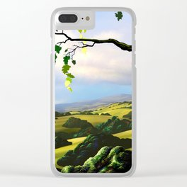 Into The Valley Clear iPhone Case