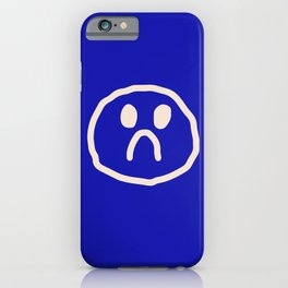 l'amour en bleu iPhone Case