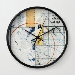Circle A Wall Clock