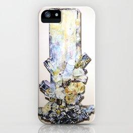 Aquamarine Schorl iPhone Case