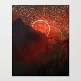 2077 landscape II Canvas Print