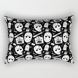 Welcome to Camp Crystal Lake! Rectangular Pillow