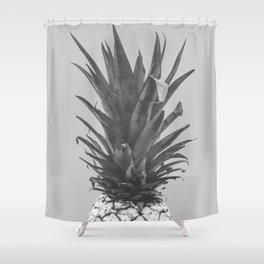 albino pineapple Shower Curtain