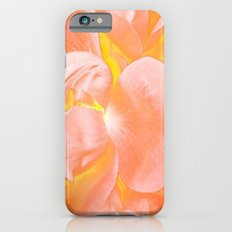 The Light Inside Flower Abstract in Peachy Pink iPhone 6s Slim Case