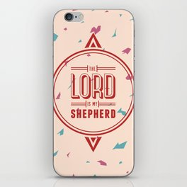 Psalm 23:1 iPhone Skin