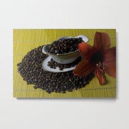 Coffee beans seduction Metal Print