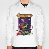 castlevania Hoodies featuring SwansonVania by Andrew Leta