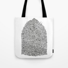 City of the Gods Tote Bag