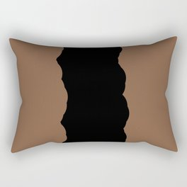 Chocolate Fudge Rectangular Pillow