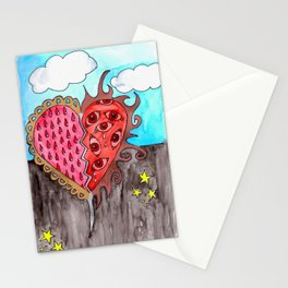 Watercolor Illustration by Tina Lynn Ellis Stationery Cards