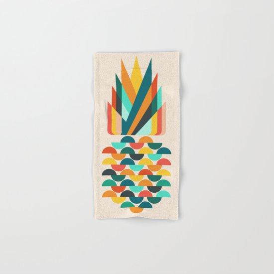 Groovy Pineapple Hand & Bath Towel
