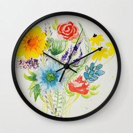 Boquet Wall Clock