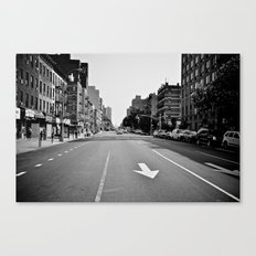 Get On Down The Road Canvas Print