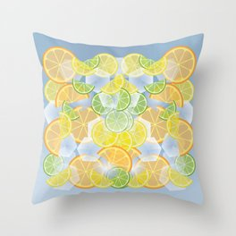 When life gives you citruses... Throw Pillow