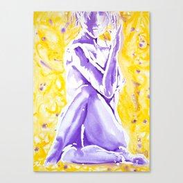 Yogi Twist Canvas Print