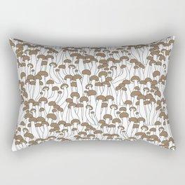Beech Mushrooms Rectangular Pillow