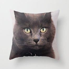 Spitting Image Throw Pillow