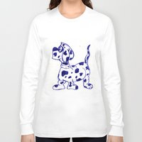 sketch Long Sleeve T-shirts featuring sketch by Shelby Claire