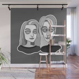 JoJo and Cagney Wall Mural