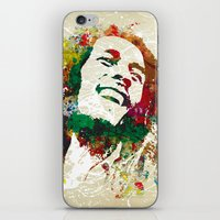reggae iPhone & iPod Skins featuring Reggae Music Man by Gary Grayson