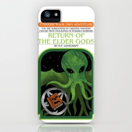 Cthulhu Your Own Adventure iPhone Case
