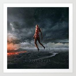 I, destroyer Art Print
