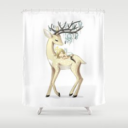 Dream Guide 2 Shower Curtain