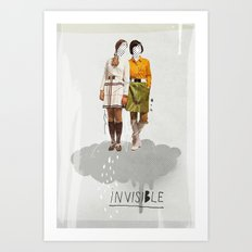 Invisible | Collage Art Print