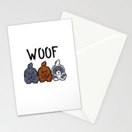 Newfoundland Dogs Woof Doggies Puppies Dog Gift Stationery Cards