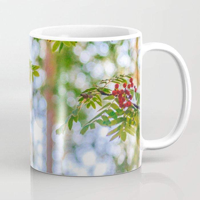 Bunches Of Rowan Berries Coffee Mug By Svetlanakorneliuk Society6