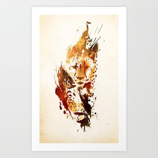 El Guepardo Art Print