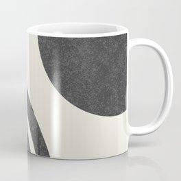 Mid century modern - Sun & Rainbow black Coffee Mug