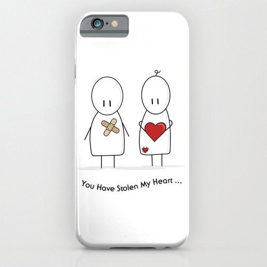 You Have Stolen My Heart iPhone & iPod Case