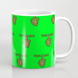 FxxK OFF ZOMBIE- Green Coffee Mug